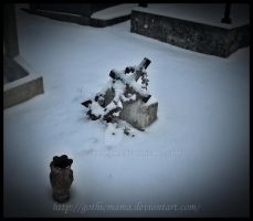 The baby's grave by Gothicmama
