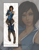 Dakimakura commission - Korra by Myme1