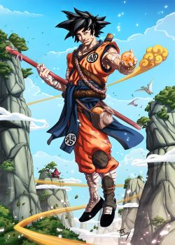 SonGoku Tribute Deviant Edition by TBoy85