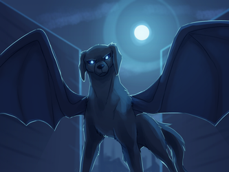 Cold Moonlight by TheDogzLife