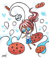 Milk and Cookie by Colorful--Melody