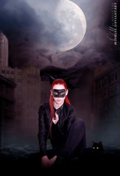 Catwoman by mishlee