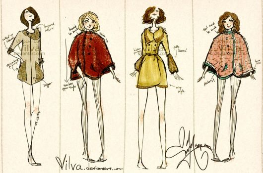 Tweed jackets collection by Vilva