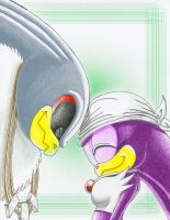 Storm x Wave: Head Touch by SAJ-Man