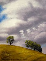 Cloudy Hill by sidneyeileen