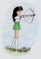 Kagome is Ready to Fight by serenchi