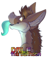 badge Dale the durrgon by xRubyCayx