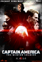 Captain America: The Winter Soldier - Fan Poster by SuperDude001
