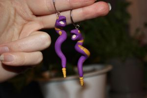 Ekans Earrings