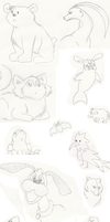 Sketchdump of Randomness! by GECKO-Nuzlockes