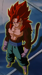 What if: Vegito SSJ4 appears in DBGT by The-Radger457