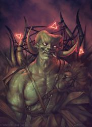 A Hell Dude by apterus