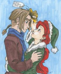 Ariel's Present from Santa by iesnoth