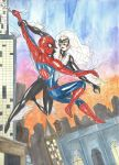 Spider Man and Black Cat by CristianGarro