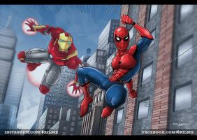 Spiderman Homecoming by CyrilCalmeau