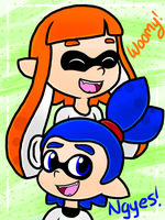 Squid Talk by candycorporation