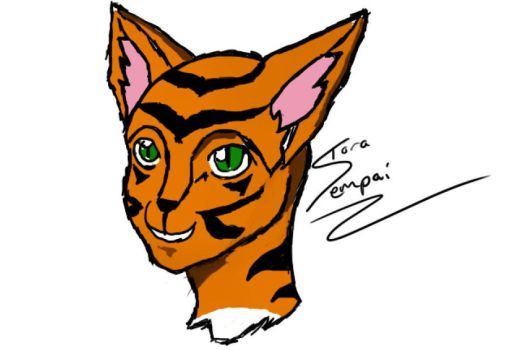 Tiger Face by ToraSempai