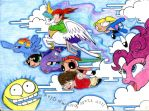 My Little Pony and Friends by Invalid-David