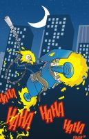 GHOST RIDER II the cartoon by Chadfuller