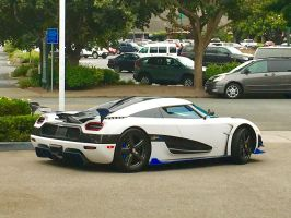 Koenigsegg Agera RS1 in Carmel Valley by Partywave
