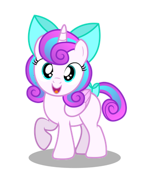 Filly Flurry Heart by AleximusPrime