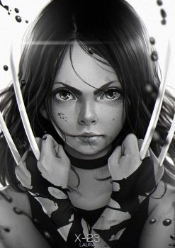 X-23 Laura by magion02