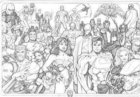 Justice League 2005 by guinnessyde