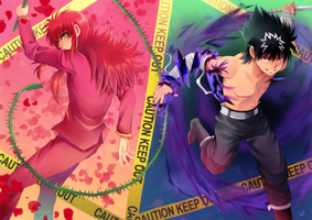 YYH - Partners in crime by akayashi