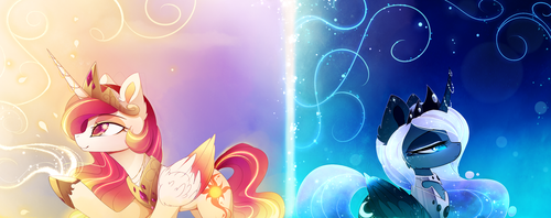 Two Sides by MagnaLuna