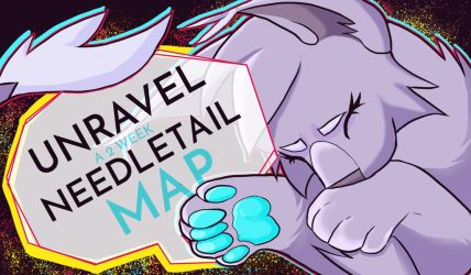 UNRAVEL needletail map, thumbnail contest entry by SeaOfSalt