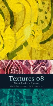 Textures 08 - Stock Pack by kuschelirmel-stock