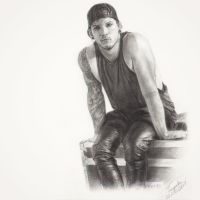 Josh Dun (Drawing) by Tokiiolicious