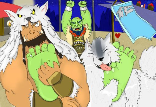 Frost wolves test-Thrall by 38385439