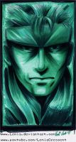 MGS Solid Snake Codec Profile Pic by LemiaCrescent