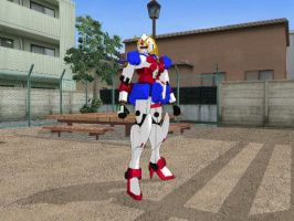Noble Gundam mmd download for others who want her by Kaispidergirl