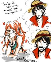 Luffy_X_Nami by Karuki-chan