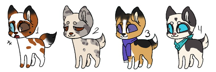 [OPEN] Puppies batch by Lobi-Adopts