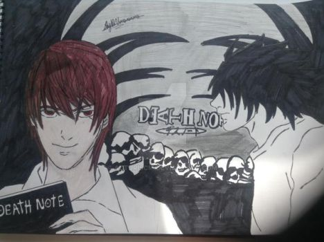 Anime Death Note Background by Acturiscm