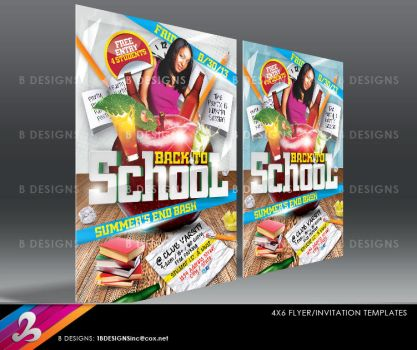Back To School Flyer Template 2 by AnotherBcreation