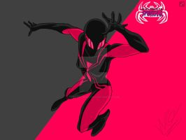Ultimate Spider-Man: Spider-Woman drawing by Sans-the-Skeleton13