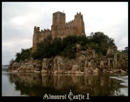 Almourol Castle 1 by migtoons