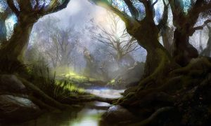 Mystic forest by PE-Travers