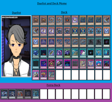 Duelist and Deck - Sayres Etzkorn by MarioFanProductions
