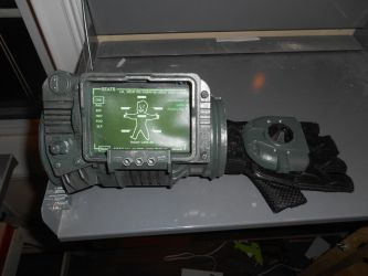 PIP-Boy 3000: 3D Printed Complete 1 by Selvagem76