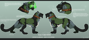[CM] Reference Sheet for Saint-Sputnik by FrossetHjerte