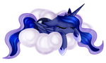 Princess Luna Collab With ArtsyStuffMlp by SketchyHowl