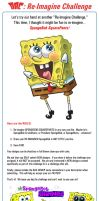 Re-Imagine Challenge Rules: SpongeBob! by JoeCostantini