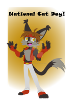 National Cat Day! by DreagonArchives