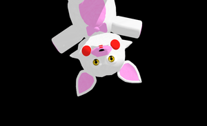 [MMD] Male Toy Foxy (Mangle) Plush Model DL by ZexionStrife