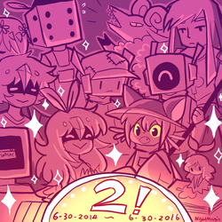 Oneshot turns 2! by NightMargin